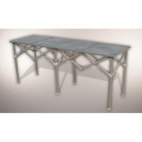Table pliante aluminium 2m LP TENT