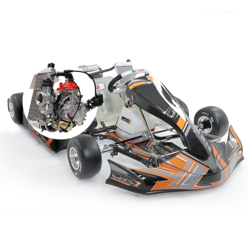 > 13 ans - Kart OK1 START Rotax Nationale FFSA (21 CV)