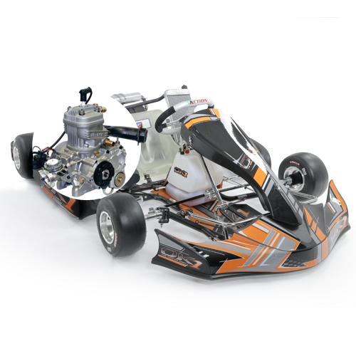 > 15 ans - Kart OK1 START Parilla X30 (30 cv)
