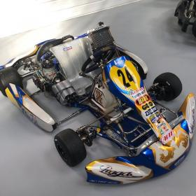 Kart occasion PRAGA + IAME SCREAMER (125 bv6)