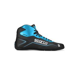 Bottines Sparco K-POLE noir/bleu ciel