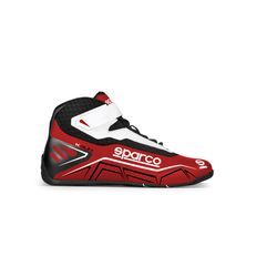 Bottines Sparco K-RUN rouge/blanc