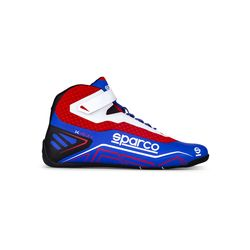 Bottines Sparco K-RUN bleu/rouge