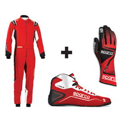 Kit pilote Thunder rouge/blanc - ENFANT