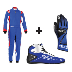 Kit pilote Thunder bleu/rouge - ADULTE