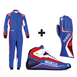 Kit pilote Thunder Plus bleu/rouge - ADULTE