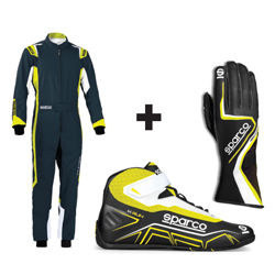 Kit pilote Thunder Plus gris/jaune - ADULTE