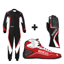 Kit pilote KERB noir/rouge - ADULTE