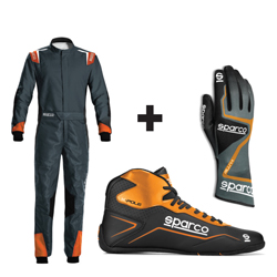 Kit pilote X-LIGHT gris/orange - ENFANT